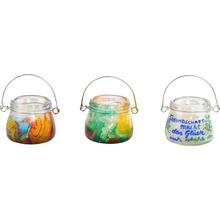 Deko-Glas mit Aufhängebügel mini