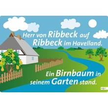 """Wandeltext Motiv Herbst: """"Herr von Ribbeck auf Ribbeck"""""""
