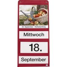 Dauerkalender-Set rot