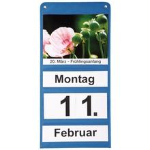 Dauerkalender-Set, blau