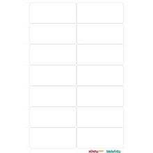NONNA ANNA® Blanko-Sticker, selbstklebend