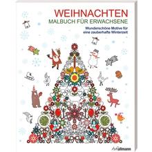 Weihnachten - Malbuch für Erwachsene