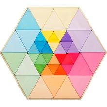 Puzzle-Steckdreiecke