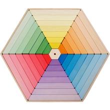 Puzzle-Stapelpyramide