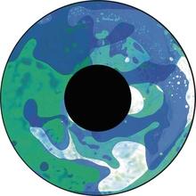 Effektrad Flüssigkeiten, grün/blau