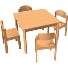 Stuhl-Tisch-Kombination 4