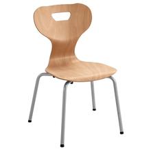 Vierbein-Stuhl solit:sit®, natur