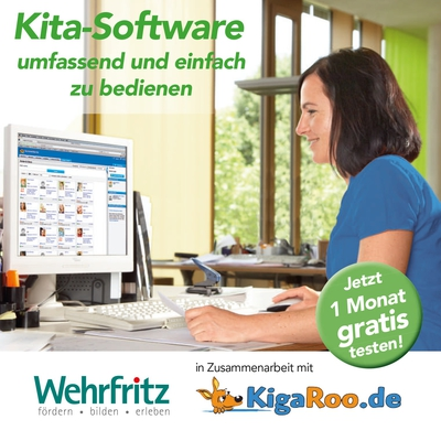 Flyer KigaRoo Software