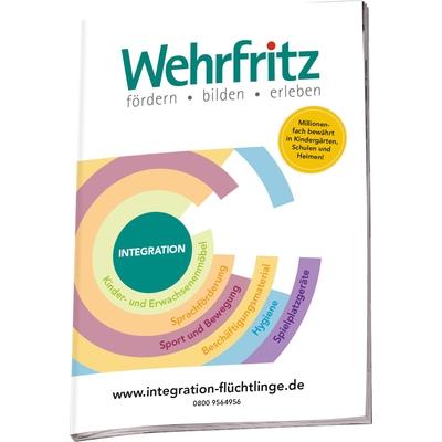 Broschüre Integration Flüchtlinge