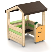 Spielpavillon ohne Veranda