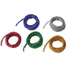 Pfeifenputzer, metallic, 5 Farben
