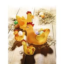 Filz-Eierhühner