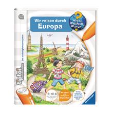 tiptoi® Wir reisen durch Europa
