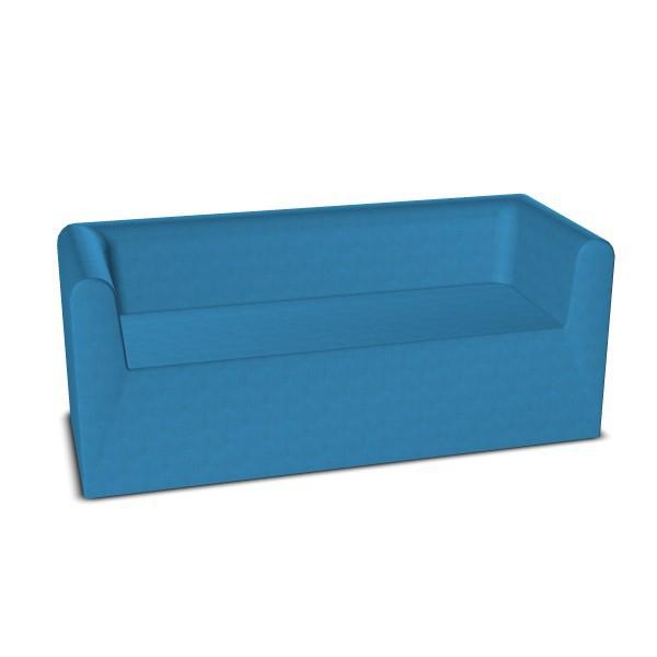 kindergarten sofa 3 sitzer sessel sofas polster ruheraum m bel raumgestaltung. Black Bedroom Furniture Sets. Home Design Ideas