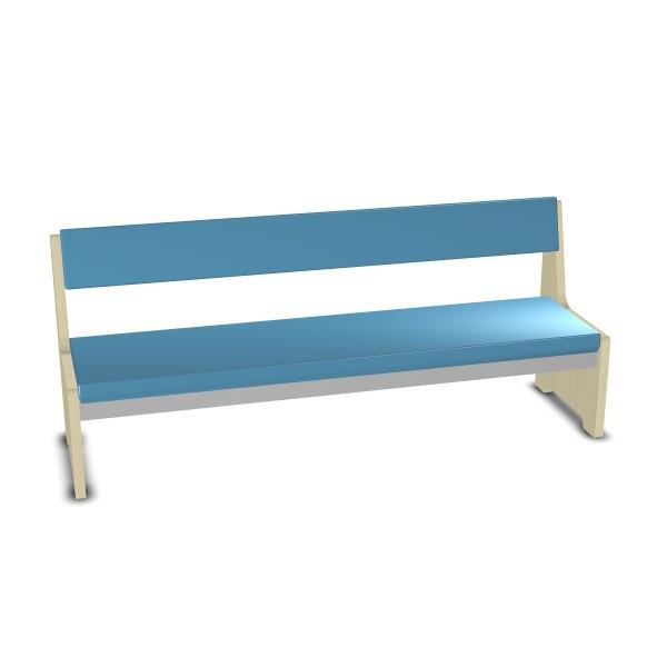 polsterbank mit lehne b nke st hle hocker m bel raumgestaltung krippe kindergarten. Black Bedroom Furniture Sets. Home Design Ideas