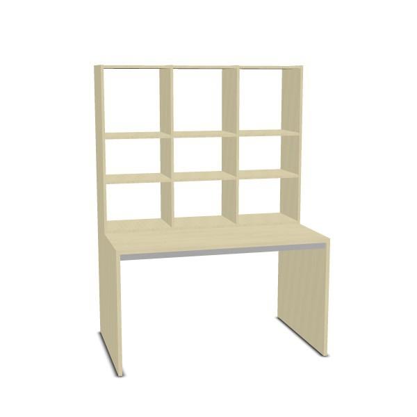 rudolfo regal mit tisch rudolfo regalsystem schr nke regale m bel raumgestaltung. Black Bedroom Furniture Sets. Home Design Ideas