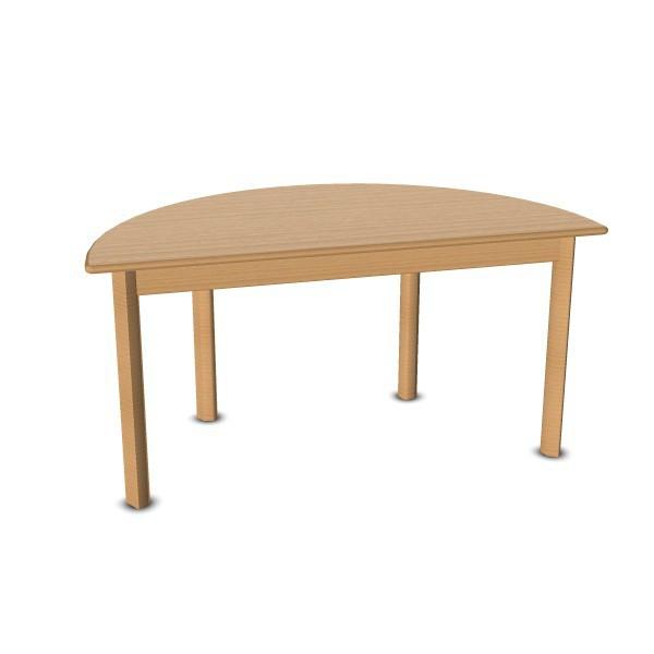 Halbrundtisch 120 X 60 Cm Allzwecktisch Tische Möbel