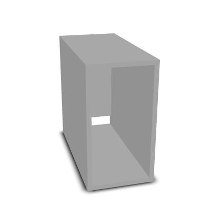 Unterbau mit CPU-Box