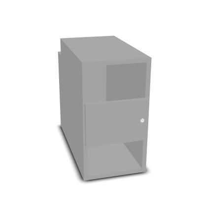 Unterbau für exklusive PC-Tische