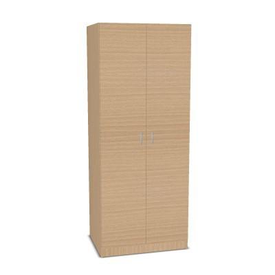 Garderobenschrank mit Doppeltür