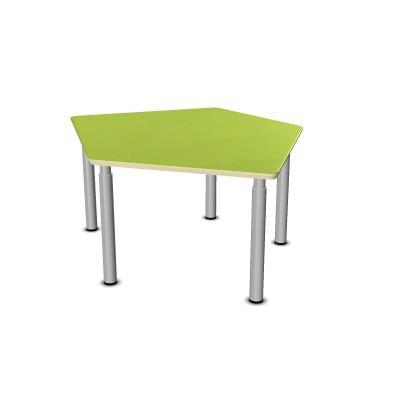Tisch-Fünfeck klein 115,8 x 104,2 cm