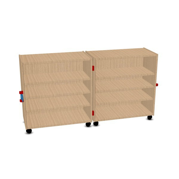 Klappschrank, 2-teilig | Material- & Rollschränke | Forminant Dekor ...