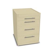 Schreibtisch-Container